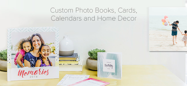 Cards, Photo Books, Calendars, Stationery, & More