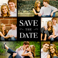 DIY Tutorial: Rubber Stamp Photo Card Save the Dates