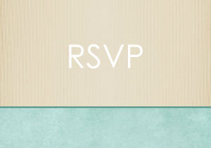 Sea Grass RSVP