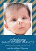 Crafty Boy Birth Announcement