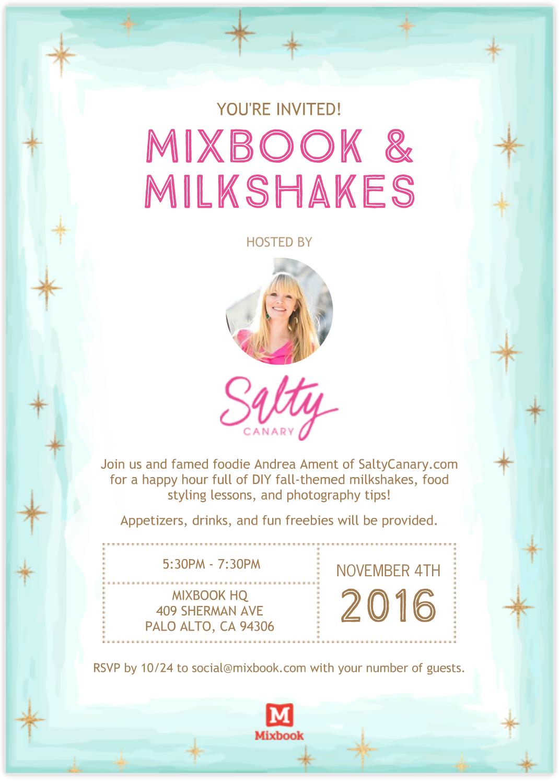 Mixbook & Milkshakes