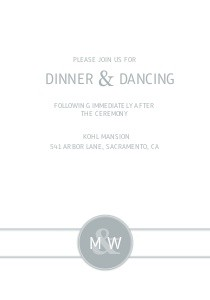 Monogram Overlay Reception