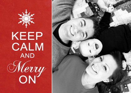 Keep Calm & Merry On