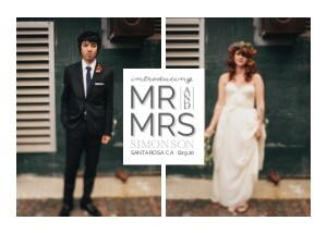 Introducing Mr & Mrs