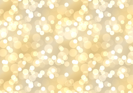 Gold and Silver Bokeh