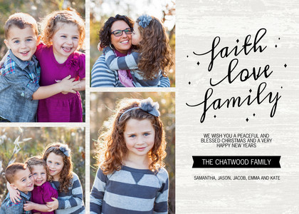 Faith, Love & Family