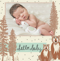 Woodland Baby Boy by Bonnie Christine
