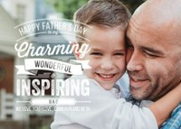 Father's Day Typography