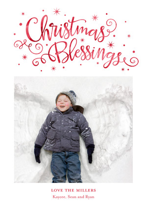 Christmas Blessings Whimsy Type