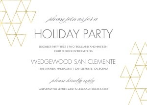 Simple Modern Holiday Party