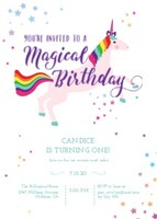 Magical Unicorn Birthday