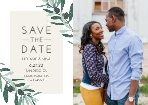 Olive Branch Save the Date