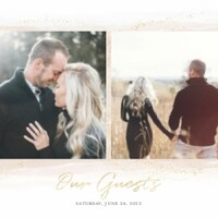Soft Wedding Neutrals Guest Book