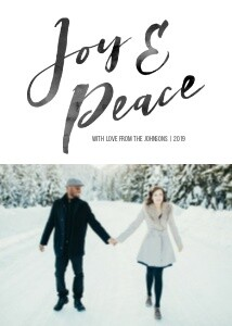 Joy & Peace Brush Script