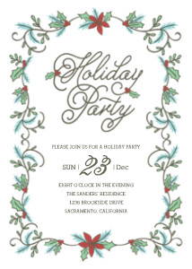 Whimsy Holiday Party
