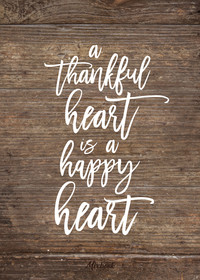A Thankful Heart