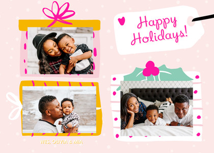 Happy Holidays by Damask Love & Black Lamb Studio
