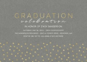 Grad Triangle Party