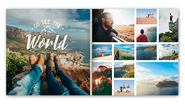 the best vacation album themes travel photo book templates mixbook